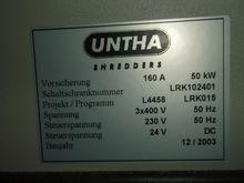 2003 Untha crusher 50KW