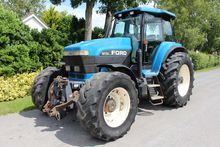 1994 FORD 8770 4WD TRACTOR
