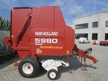 1996 New Holland 5980 Round bal