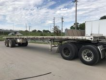 1990 TRAILMOBILE Flatbed Traile