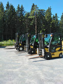 2008 Yale Forklifts are rented