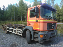 2000 MAN 26-414 container trans