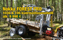 The cam 2016 Forest Pro 1036 an