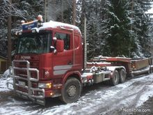 Scania 6x4 hook automotive grav