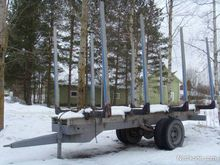 Used timber trolley