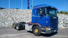 2003 Scania 124 Crane spot and