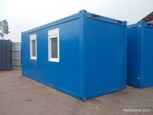 20'uusi office container
