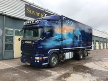 2011 Scania R500 6x2 and cart