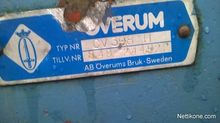 Used Överum CV398 h