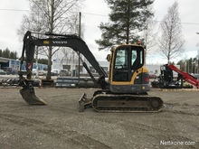 Used Volvo ECR88 in