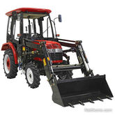 Tarmo 24HV TRACTOR 4WD Front-en
