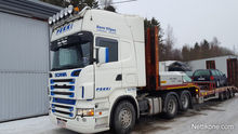 2006 Scania R 580 and trailer