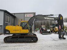2011 Volvo EC160CL Rototilt SMP