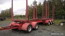5-axle trailer timber