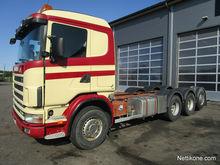 2003 Scania R164 G 8x4 tridem c