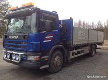 2002 Scania 94 Crane Truck
