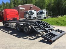 2001 Scania R124 6x2 transport