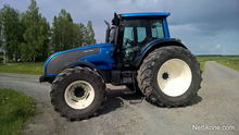 2008 Valtra T171 With backhoe l