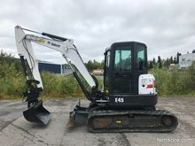 2013 Bobcat E45 GOOD HYDLINER 2