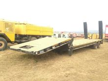 DOUBLE AXLE LOWBED TRAILER