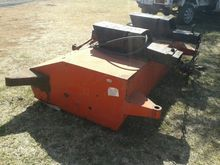 RED HYDRAULIC SWEEPER