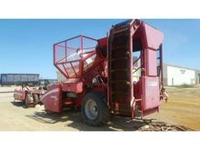 GRIMME SUGAR BEET HARVESTER AND