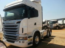 Scania R 580 6x4 truck tractor