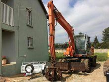 2002 HITACHI EX135W Excavator w