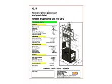 ORBIT SC200/200 GD TD VFC 45 ME
