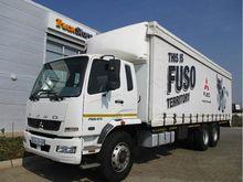 2014 Fuso FN25-270 TAUTLINER BO