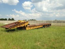 HYSTER 4 AXLE LOWBED FOLDING GO