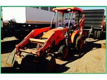 KUBOTA L39 4X4 WITH FORKLIFT AT