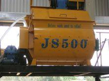 2016 TWIN SHAFT MIXER JS500