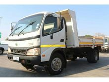 2007 TOYOTA DYNA DROPSIDE TIPPE