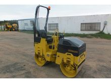2009 BOMAG BW80ADH-2 SIT ON ROL