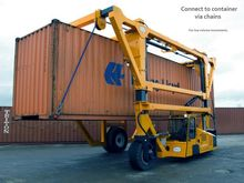 2017 COMBILIFT STRADDLE CARRIER