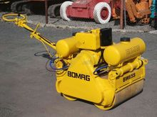 Bomag BW65S walk-behind roller