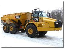 2014 CAT 740B ARTICULATED TRUCK