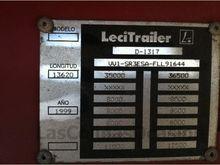 1999 LECITRAILER SR3ESA R-958