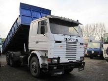 1987 Scania 112 6x2 Kipper