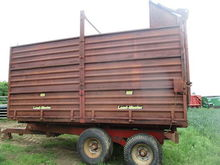 FOSTER 8 TON SILAGE TRAILER WIT