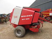 WELGAR RP200 BALER