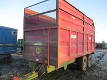 MARSHALL 12 TON SILAGE TRAILER