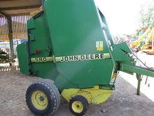 Used JD 580 BALER NE