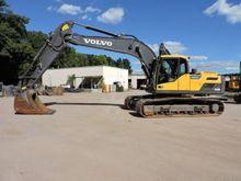 2014 Volvo EC220DL Track excava