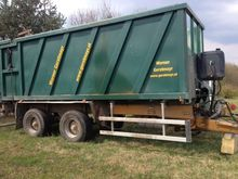 Joskin driving trailer 7500 / 2