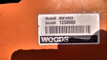 Used Woods BW1800 in