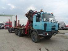 1990 Tatra 815 6x6 + trailer le