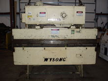 1978 Wysong 2596 Press Brakes -