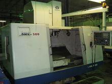 2000 Daewoo DMV 500 VMC CNC Mil